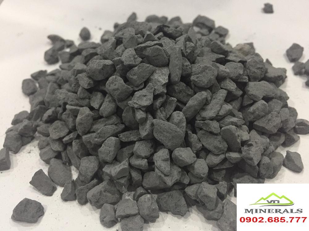đá hạt đen 4mm